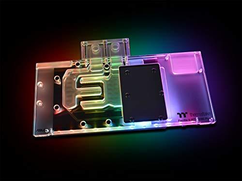 Thermaltake CL-W248-CU00SW-A Pacific V-RTX 2080 Plus 16.8 Million Colours LED/LCS Fan - Black