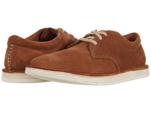 Clarks Men's Forge Vibe Oxford Sneaker, Cola Suede, 7