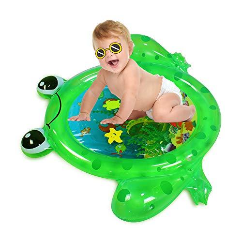 HBIAO Cojín de Agua Inflable, Colchoneta para el Tiempo Boca Abajo Artículos de Juego sensorial para recién Nacidos Centro de Actividades Infantiles Juguetes inflables para niños pequeños