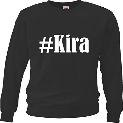 Reifen-Markt Sweatshirt Damen #Kira Größe S Farbe Schwarz Druck Weiss