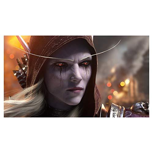 CFTGB World of Warcraft WOW Sylvanas Windrunner - Alfombrilla de ratón grande para juegos, alfombrilla de ratón para ordenador, PC, alfombrilla de ratón (tamaño 800 x 300 x 3 mm)