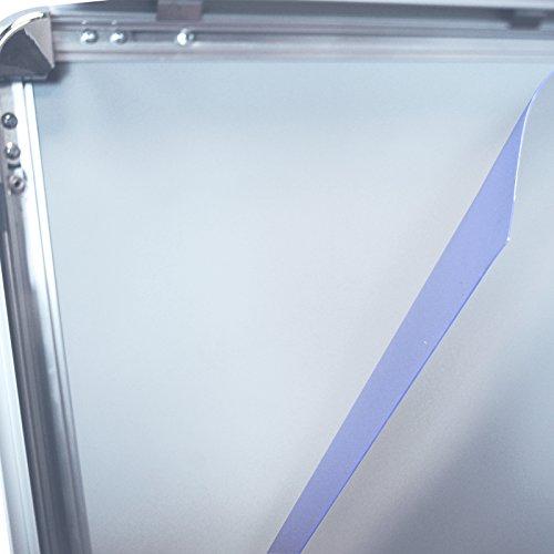 5 Stück DIN A0 (84,1 cm x 118,90 cm) Ersatzfolie Schutzfolie Folie für Kundenstopper Klapprahmen