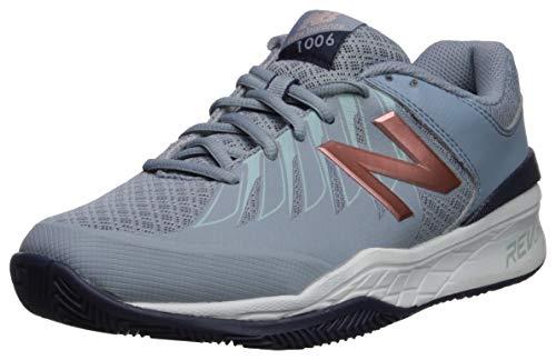 New Balance Women's 1006 V1 Tennis Shoe, Reflection/Rose Gold, 5 M US