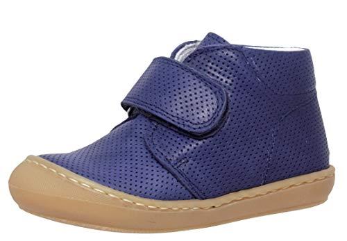 Dianetti Lauflernschuhe 3245C Italien Leder Blau Schmal, Schuhgröße:EUR 23