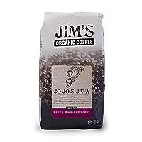 JIMS ORGANIC COFFEE COFFEE GRND JOJOS JAVA OR