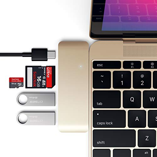 Satechi USB-C Pass-Through Combo Hub - Compatible with 2020/2018 iPad Pro/MacBook Pro and more