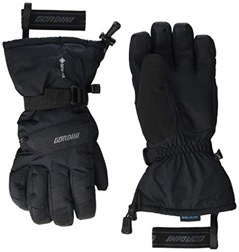 Gordini Herren Standard Rally Gauntlet Handschuhe, Schwarz, Größe M