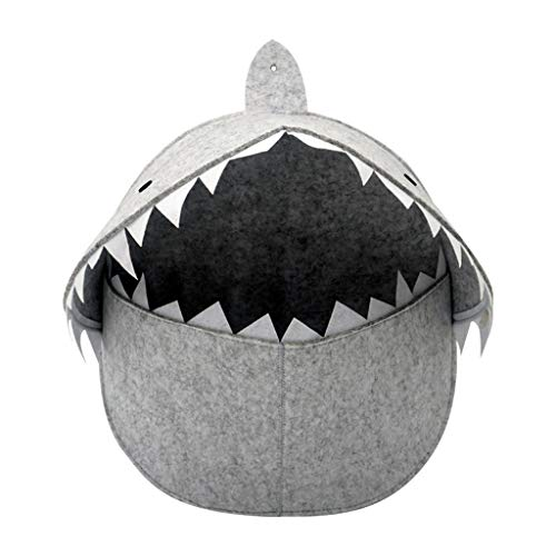 Shark Mouth Wall Decor. Wide Mouth, Light Storage Organizer. Sturdy, Easy to Hang. A Conversation Piece just About Anywhere. Perfect for a Kid's Room. NO Real Shark was harmed Making This Piece.