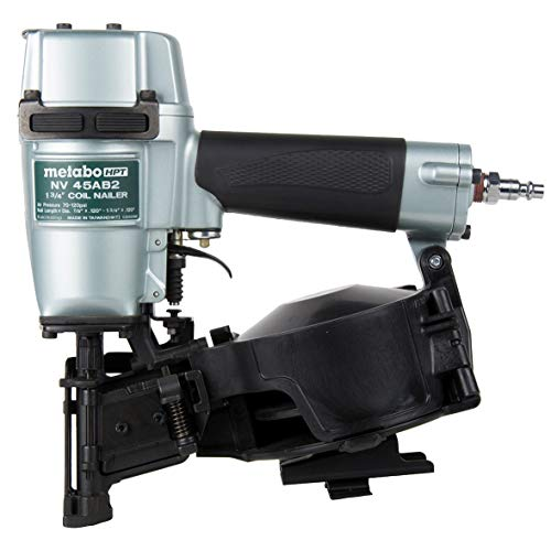 Metabo HPT Roofing Nailer, Pneumatic, Coil Roofing Nails from...