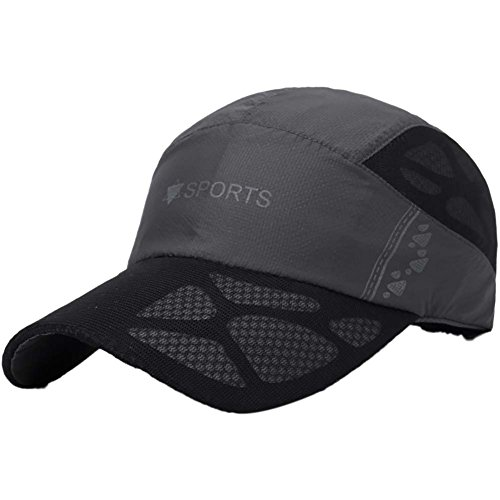 Handfly Sombrero de béisbol Sport Cap, Transpirable, de Secado rápido, protección UV al Aire Libre para Hombres y Mujeres