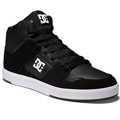 DC Cure Casual High-Top Skate Shoes Sneakers Black/White 12 D (M)