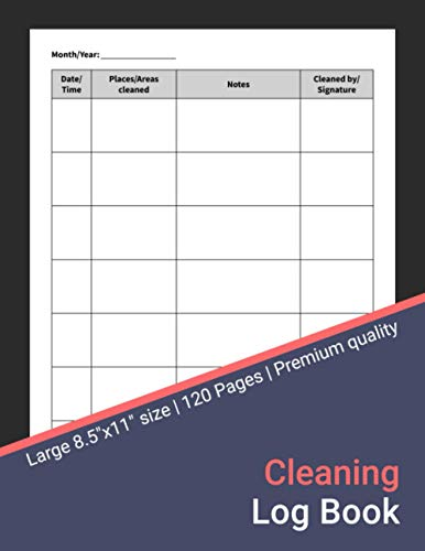 Compare Textbook Prices for Cleaning Log Book: Cleaning Tracker for Home, Office, and Businesses Including Restaurants, Cafés, Hotels, and More  ISBN 9798696506678 by Maxwell, Scarlett