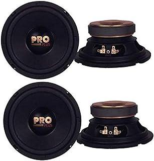 "$49 » 4) Pyramid W64 6.5"" 800 Watt Car Audio Midrange/Mid Bass Poly Woofers Speakers"