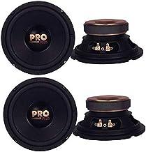 "4) Pyramid W64 6.5"" 800 Watt Car Audio Midrange/Mid Bass Poly Woofers Speakers photo"