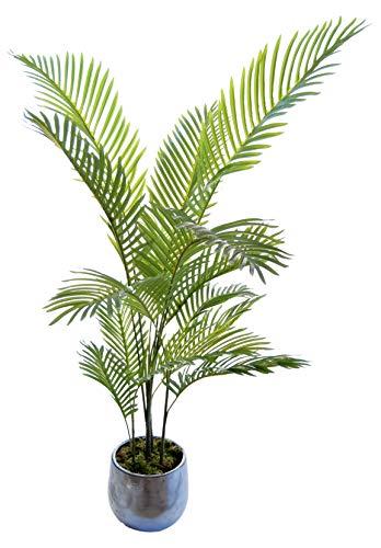 Palmera Artificial, Ideal para Decoración del Hogar u Oficina, Planta Artificial (120 cm)