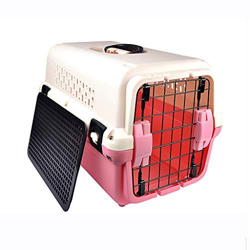 Boîte à air pour Animal de Compagnie, Cage de Chien en boîte pour Chat, Voyage Portable, Ventilation Durable et Respirante, Facile à Installer, Facile à Nettoyer