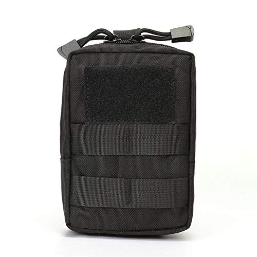 Fanny poacks Bolso de la correa táctica - Herramienta EDC sistema táctico de Molle Molle Médico de la bolsa de accesorios 1000D paquete de la cintura de caja del teléfono caza de Airsoft de la bolsa d