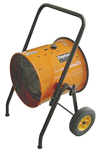 Great Deal! Dayton 9800W Electric Salamander Heater, Fan Forced, 240V, 1RKT5