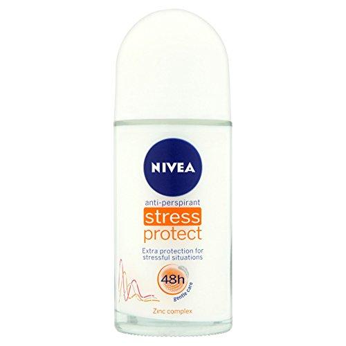 "3 x NIVEA Women Deo Roll-on\""Stress Protect\"" - 50 ml"