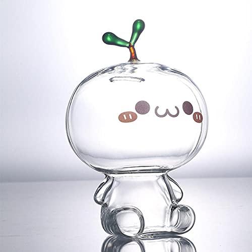 Caja fuerte de cristal transparente con forma de moneda de Piggy Bank con dibujos animados