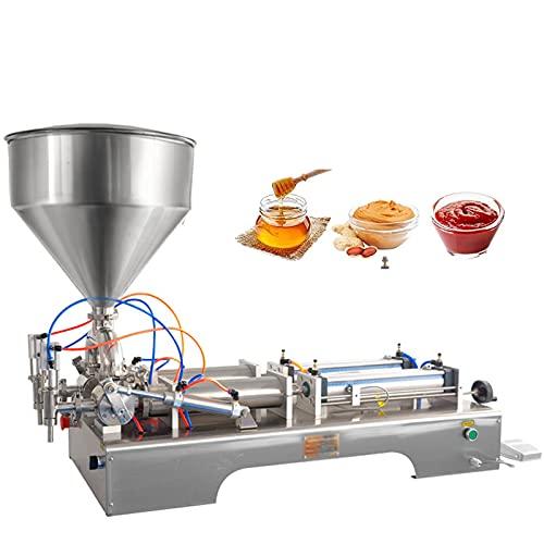 Máquina De Llenado De Pasta Líquida Neumática 100-1000Ml, Máquina De Llenado De Pasta De Doble Cabezal, Máquina De Llenado De Pistón De Acero Inoxidable