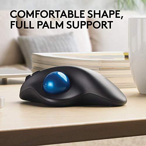 Logitech M570 Wireless Trackball Ergonomic Mouse Review
