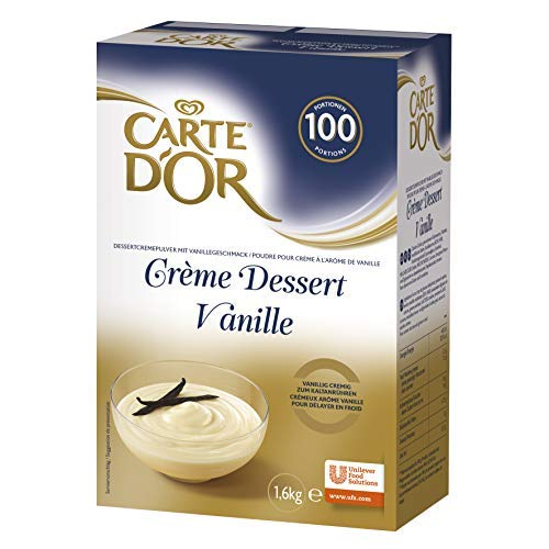 Carte d'Or Crème Dessert Vanille (Dessertcremepulver) 1er Pack (1x 1,6kg)