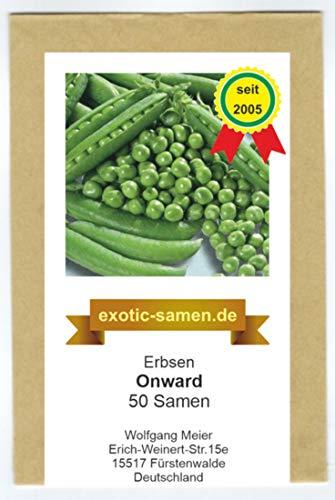Markerbse - frühe Sorte - Onward - 50 Samen