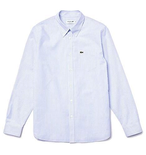 Lacoste TH7618, Camiseta para Hombre, Azul (Marine), Medium (Talla del
