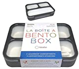 Bento Box For Adults   Lunch-boxes Bento-boxes for Kids Boys Girls Teens with 3 Compartment   Slim...