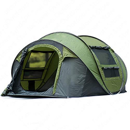 QinWenYan Tienda Tienda Tienda de Camping automática APORTA RÁPIDA 3-4 Personas ESPACIONES AIRNIVIDUALES Cambio Cambio Cambio Cambio DE PICNICA Familia Tienda para Acampar