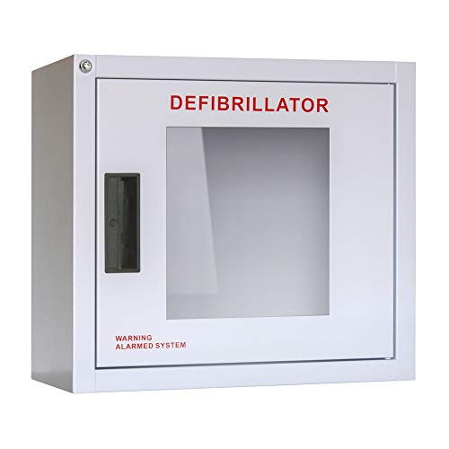 Heartsmart AED Wall Cabinet with Keyed Alarm