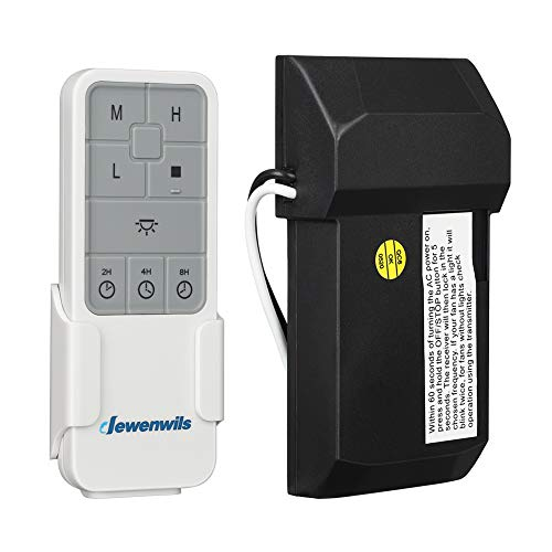 DEWENWILS Ceiling Fan Remote Control Kit with Dimmer...