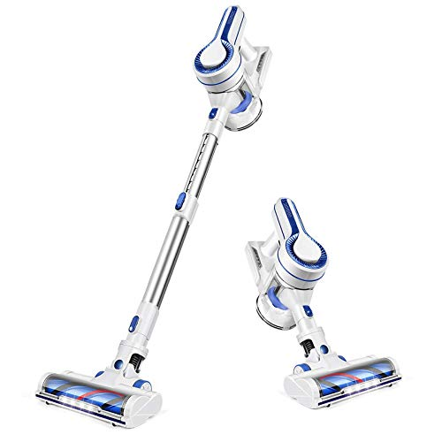 APOSEN Cordless Vacuum Cleaner, Upgraded Powerful Suction 4...