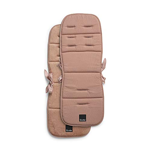 Elodie Details Universelle Sitzauflage für Kinderwagen Sportwagen Buggy Gepolstert Waschbar CosyCushion - Faded Rose, Pink