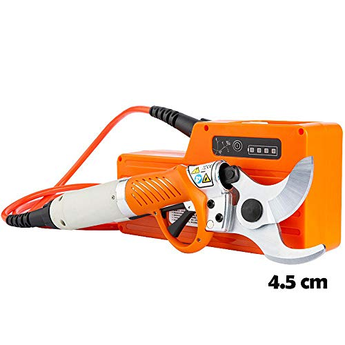 Sale!! FJFJFJ 450W Electric Shears Cordless Electric Garden Pruner 36V 4400Mah Lithium Battery Pruni...