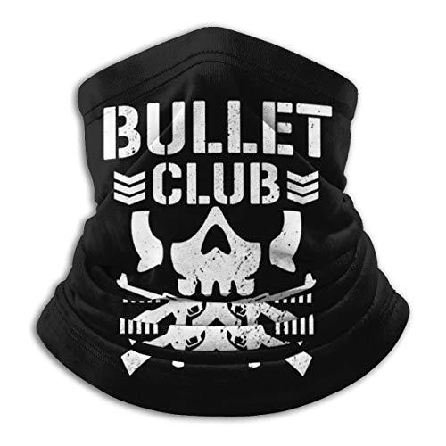 Bullet Club Unisex Fashion Face Bandanas Head Band Wears Scarf Face Tube Neck Scarf