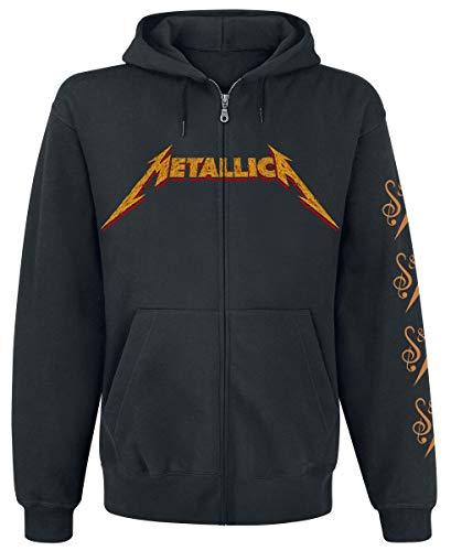 Générique Metallica S&M2 Cello Reaper Homme Sweat-Shirt zippé à Capuche Noir L