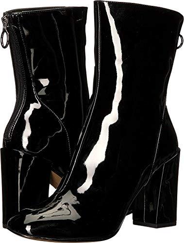 Avec Les Filles Womens Raina, Black Patent, Size 7.0