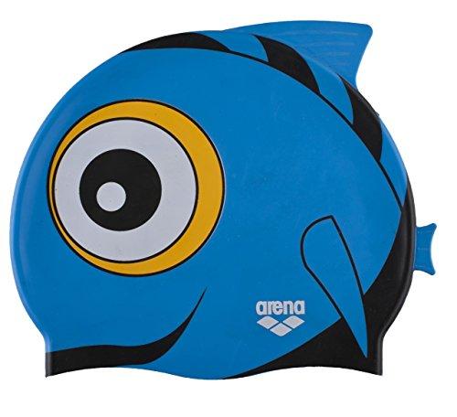 Arena Touca Infantil Awt Fish Cap Punk, Azul