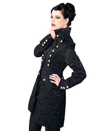 Aderlass Ladys Corsair Coat Brocade Black (Größe M)
