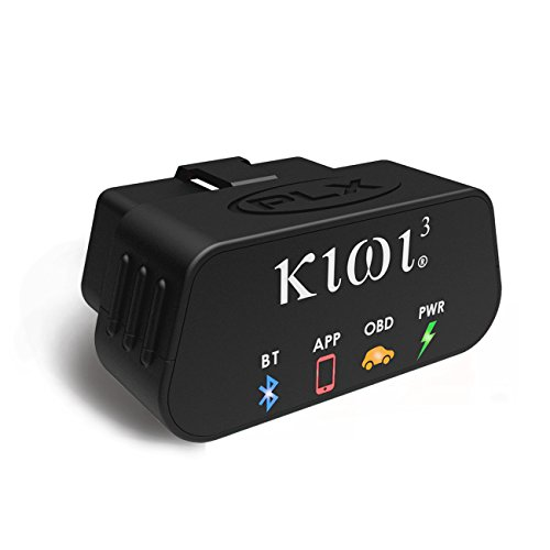 PLX Devices Kiwi 3 Bluetooth OBD2 OBDII Diagnostic Scan Tool for Android, Apple, & Windows Mobile by PLX Devices Inc. (USA)