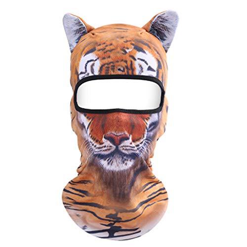 Dasongff multifunctionele doek voor dames en heren, grappig dierenprint, slang, halsdoek, outdoor, gezichtsmasker, ademend, stofbescherming, monddoek, slangsjaal, gezichtsmasker, motorrijden