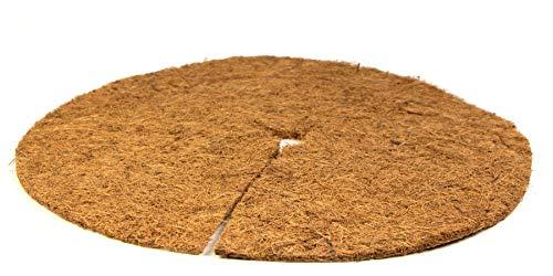 mgc24® Kokos-Mulchscheibe - Abdeckscheibe als Winterschutz/Frostschutz/Kälteschutz für Pflanzen und Bäume - Ø 45cm Natur, 3 Stück