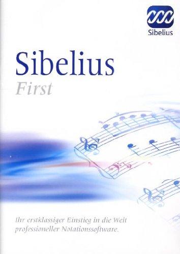 Sibelius First  (PC+ MAC)
