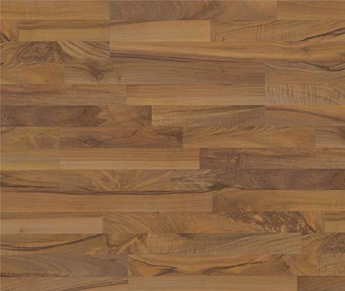 HORI® Laminat Nussbaum Schiffsboden selection elegant 3-Stab I für 5,24 €/m²