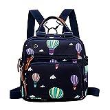 Hot air Balloon Printed Diaper Bag Waterproof Mother Baby Backpack Waterproof Care Bag Wet Bag Travel Cushion