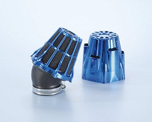 Air Box Polini Cromato Blu inclinato 30' imbocco D.32