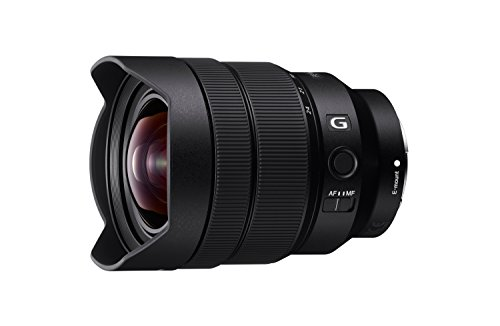 Sony SEL1224G - Objetivo Sony Montura E (Lente G, Distancia Focal 12-24 mm, Gran Angular de F4, diseño Compacto) Negro