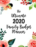 The Ultimate Family Budget Planner: Budget Journal Tool, Personal Finances, Financial Planner, Debt Payoff Tracker, Bill Tracker, Budgeting Workbook, Dot Grid, Floral Cover